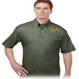 Ljutic Tri Mountain Heavy Weight Shooting ShirtgreenShort