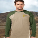Tri Mountain Shooting T-Shirt Long Sleeve Green