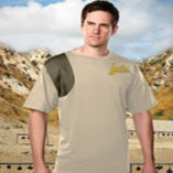 Tri Mountain Shooting T-Shirt Short Tan