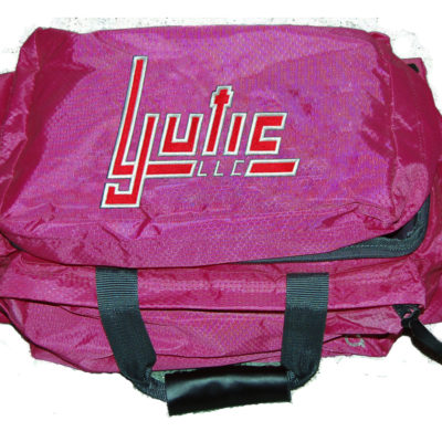 bob allen shooting bag pink