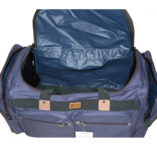 duffle inside view